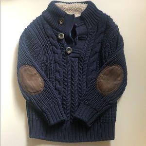 Baby Gap boys navy sweater